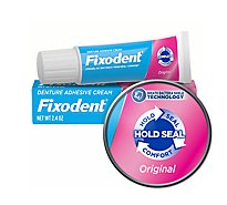 Fixodent Denture Adhesive Cream Original - 2.4 Oz