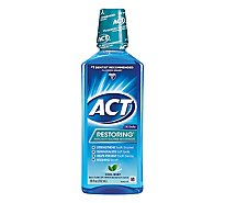 ACT Anticavity Clean Splash Mint - 18 Fl. Oz.
