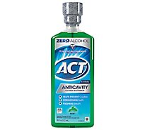 ACT Mouthwash Anticavity Fluoride Mint - 18 Fl. Oz.