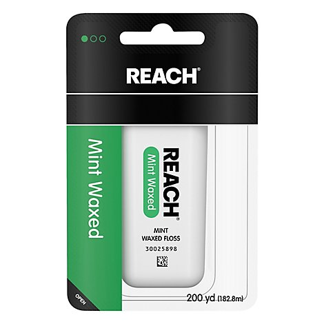 REACH Floss Mint Waxed 200 YD - Each