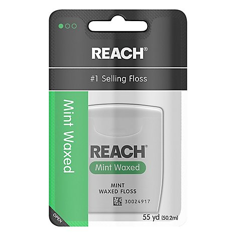 REACH Floss Mint Waxed 55 YD - Each