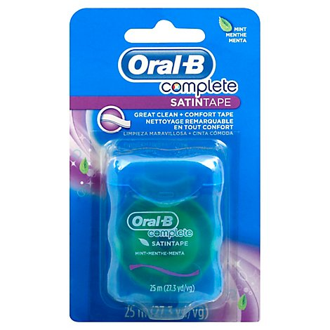 Oral-B Complete SatinTape Dental Floss Mint - Each