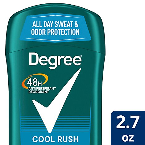 Degree For Men Dry Protection Anti-Perspirant Stick Cool Rush - 2.7 Oz