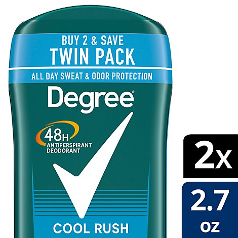 Degree For Men Dry Protection Anti-Perspirant Stick Cool Rush - 2-2.7 Oz