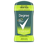 Degree For Men Dry Protection Anti-Perspirant Stick Extreme Blast - 2-2.7 Oz