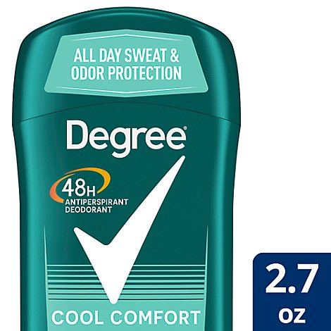 Degree For Men Dry Protection Anti-Perspirant Stick Cool Comfort - 2.7 Oz