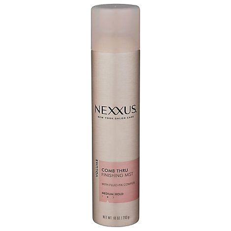 Nexxus Finishing Mist Volume Comb Thru Medium Hold - 10 Fl. Oz.