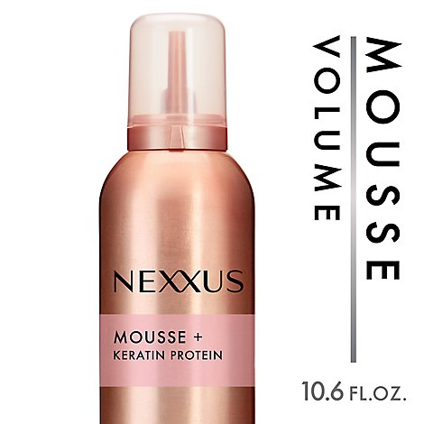 Nexxus Mousse Plus Alcohol Free Volumizing Foam - 10.6 Oz