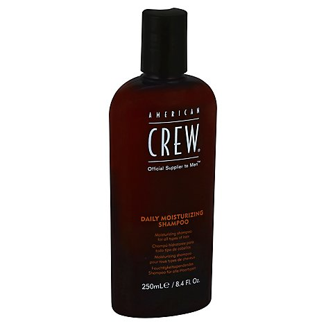 American Crew Classic Shampoo Moisturizing for Normal to Dry Hair and Scalp - 8.45 Fl. Oz.