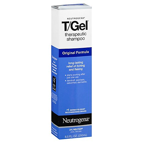 Neutrogena Hair Shampoo T Gel - 8.5 Fl. Oz.