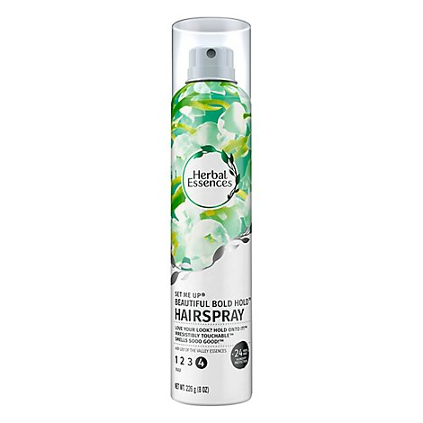 Herbal Essences Set Me Up Hair Spray Beautiful Bold Hold Max - 8 Oz