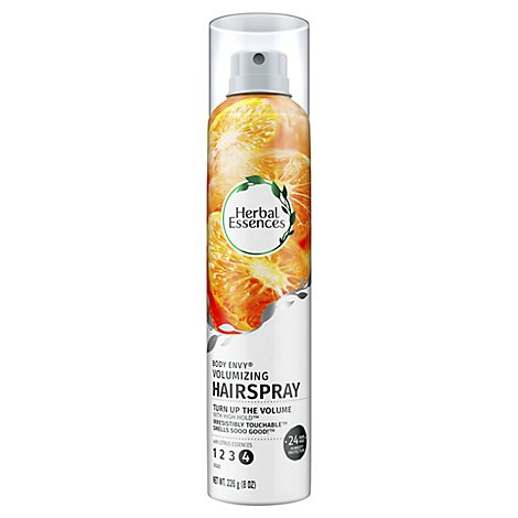 Herbal Essences Body Envy Hair Spray Volumizing Max with Citrus Essences- 8 Oz