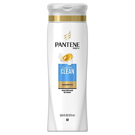 Pantene Pro-V Shampoo Classic All Hair Types - 12.6 Fl. Oz.