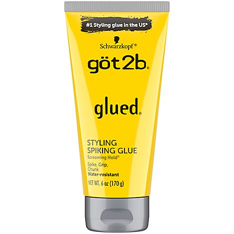 Got2b Hair Care Glued Spiking Glue Hair Gel - 6.8 Oz