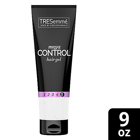 TRESemme TRES GEL Hair Gel Mega Firm Control Mega Sculpting - 9 Oz