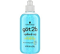 Got2b Spiked Up Styling Gel - 8.5 Fl. Oz.