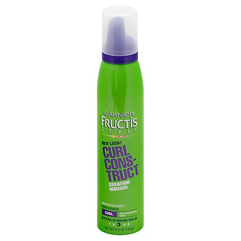 Garnier Fructis Style Creation Mouse Curl Construct Hold 3 - 6.8 Oz