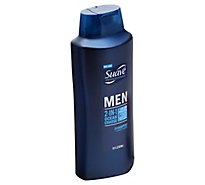 Suave Men Shampoo + Conditioner 2 In 1 Ocean Charge - 28 Fl. Oz.