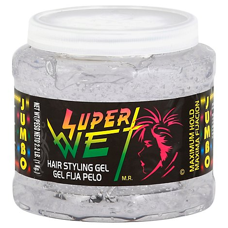 Super Wet Jumbo Clear Gel - 35.3 Oz