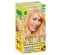 Garnier Nutrisse Hair Color Creme Nourishing Extra Light Natural Blonde 100 - Each