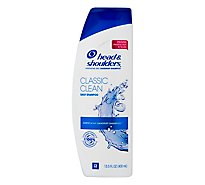 Head & Shoulders Shampoo Dandruff Pyrithione Zinc Classic Clean - 14.2 Fl. Oz.