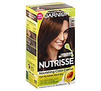 Garnier Nutrisse Nourishing Color Creme Medium Natural Brown 50 - Each
