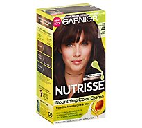 Garnier Nutrisse Permanent Haircolor Dark Brown 40 - Each