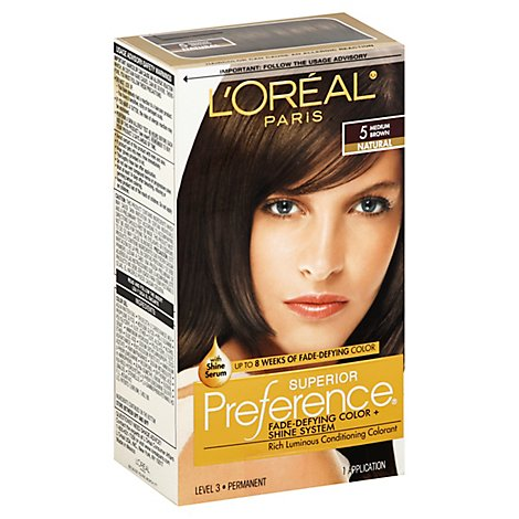 Superior Preference Fade-Defying Color + Shine System Medium Brown 5 - Each