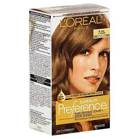 LOreal Hair Color Preference Dark Blonde 7 - Each
