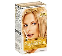 LOreal Hair Color Preference Natural Blonde 9 - Each