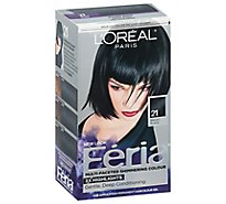 LOreal Hair Color Feria Starry Night Black 21 - Each