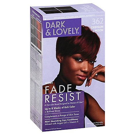 Dark And Lovely Hair Color 371 Clear Jet Black - Each