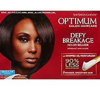 Optimum Relaxer No-Lye Defy Breakage Regular - Each