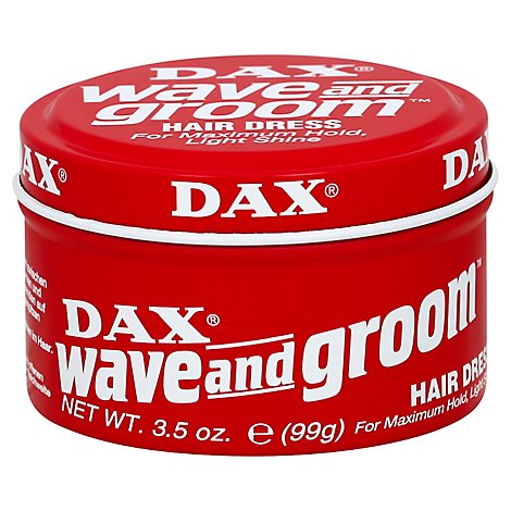 Dax Hair Care Wave And Groom Hairdressing - 3.5 Fl. Oz.
