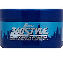 SCurl Hair Care 360 Style Pomade - 3 Oz