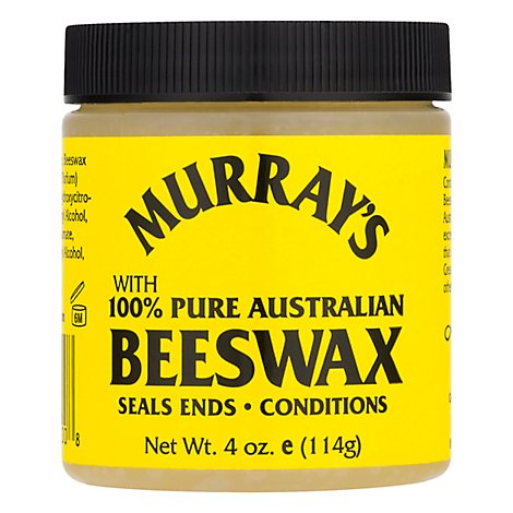 Murrays Hair Care Beeswax Clear - 3.5 Oz