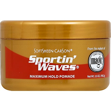 Soft Sheen Hair Care Sportin Waves Gold Pomade - 3.5 Fl. Oz.