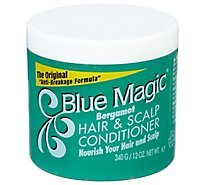 Blue Magic Hair Care Bergamot Green - 12 Fl. Oz.
