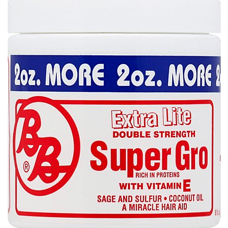 BB Hair Care Super Grow Extra Lite - 6 Fl. Oz.