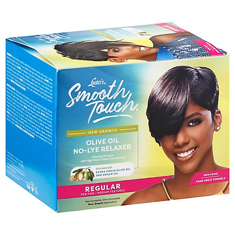 Lusters Hair Care Pink Smooth Touch Relaxer Regular - Each