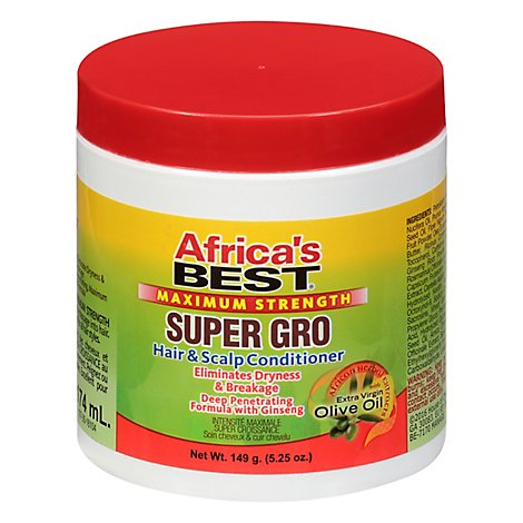 Africas Best Max Super Gro - 5.25 Oz