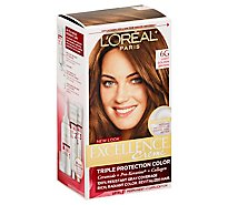 Excellence Creme Hair Color Triple Protection Color Light Golden Brown 6g - Each