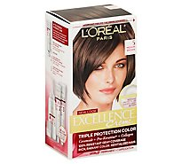 Excellence Creme Hair Color Triple Protection Color Medium Brown 5 - Each
