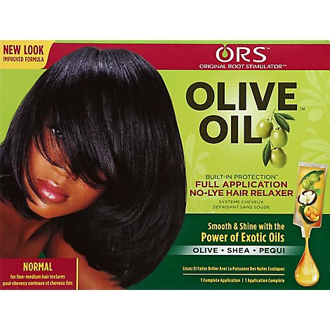 Organic Roots Normal Relaxer Kit - Each