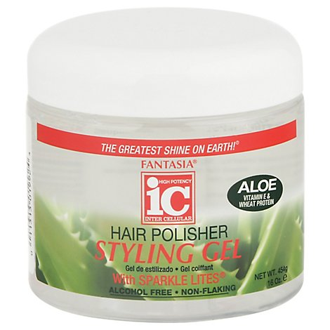 Fantasia Styling Gel Hair Polisher - 16 Oz