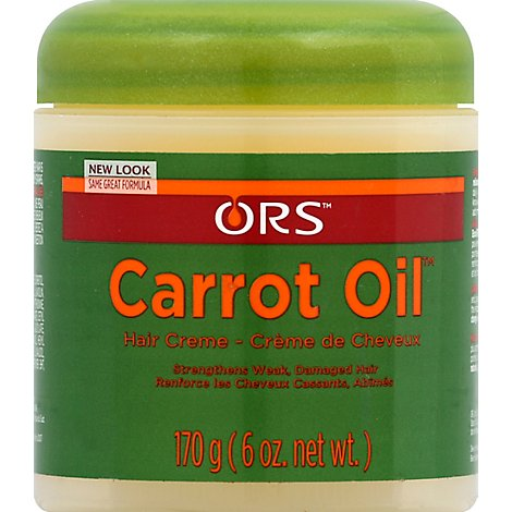 Organic Hair Care Root Stimulater Carrot Oil - 6 Oz
