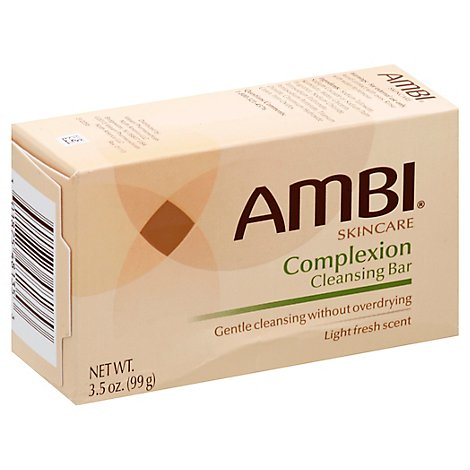 Ambi Skincare Cleansing Bar Complexion Light Fresh Scent - 3.5 Oz