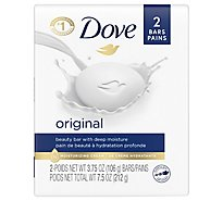Dove Beauty Bar with Deep Moisture White - 2-4 Oz