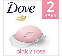 Dove Beauty Bar Pink - 2-4 Oz