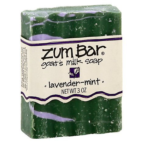 Zum Bar Lavender Mint Bar Soap - 3 Oz